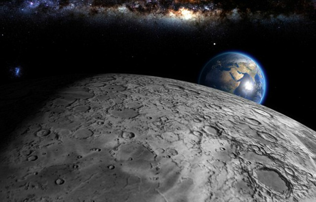 Scientists Find That The Moon Is Stealing Oxygen From
