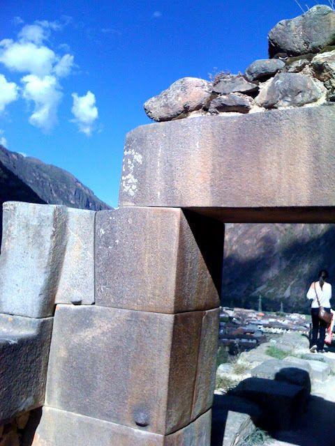 Stone arch at Ollantaytambo
