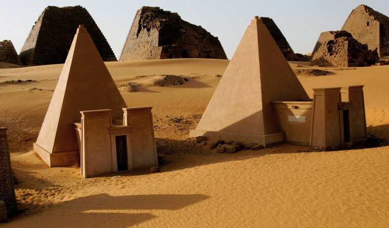 Egypt isn't the country with the most Pyramids in the world—Sudan has more than 250