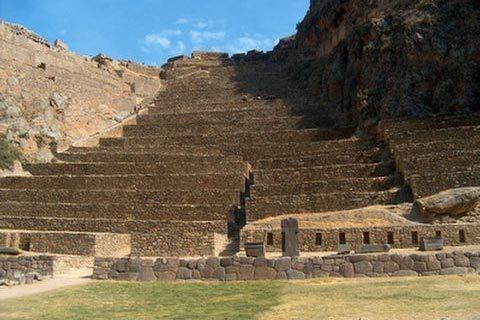 Exploration Of Ollantaytambo And Naupa Huaca In Peru The-ruins-of-Ollantaytambo