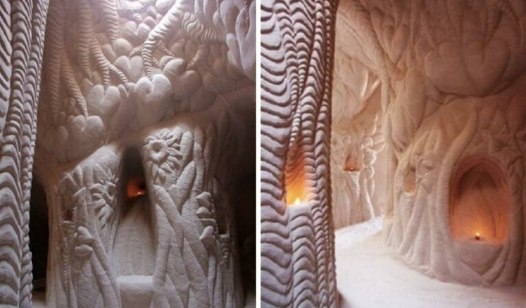 A Man Isolated himself from society in the desert for 25 years- What he reveals inside this cave is incredible