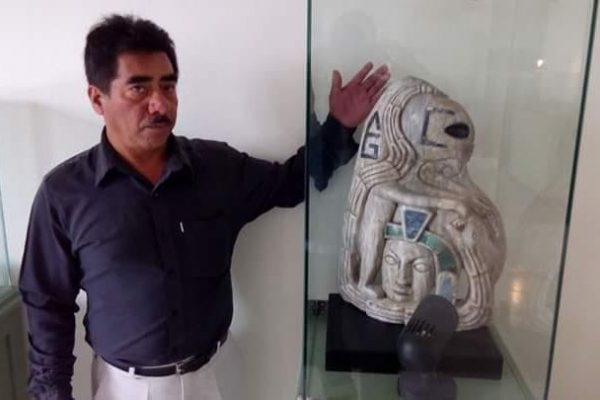 Инопланетная скульптура времен майя найдена вМексике