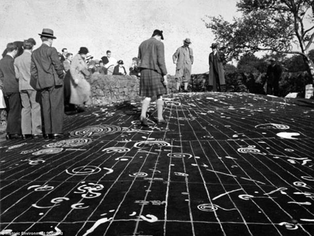 The Cochno Stone: A MASSIVE 5,000-year-old cosmic map? Cochno-stone-4