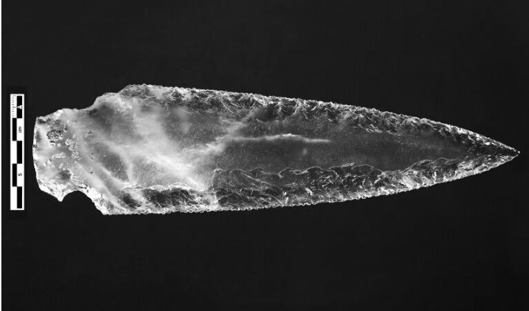 Archaeologists in Spain excavate intricate set of Ancient 'Crystal weapons'