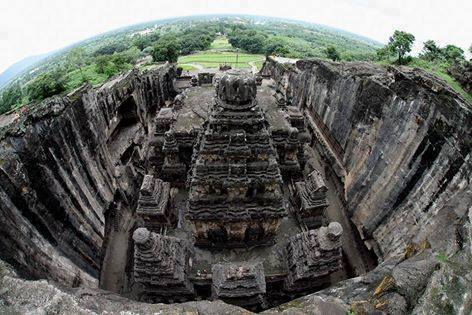 This Ancient Hindu Temple Was Carved Out Of A Single Rock, And No One Knows How Kailasa-11