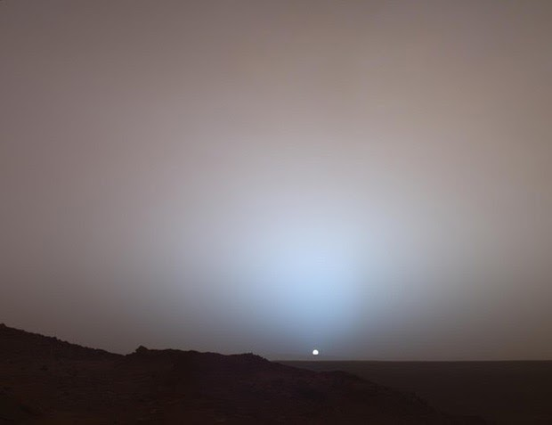 30 images that will make you RECONSIDER your ENTIRE existence Sunset-from-Mars
