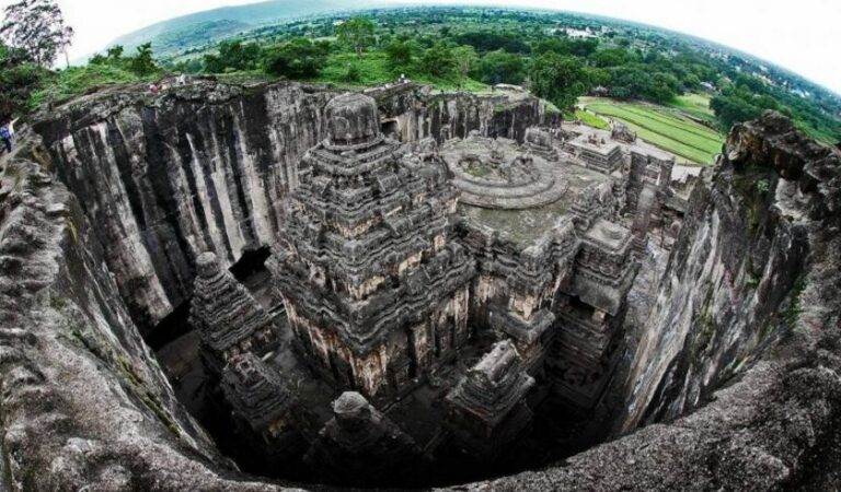 Ancient Kailasa Temple exposed: 60 Mind-bending images of a temple carved out of a mountain