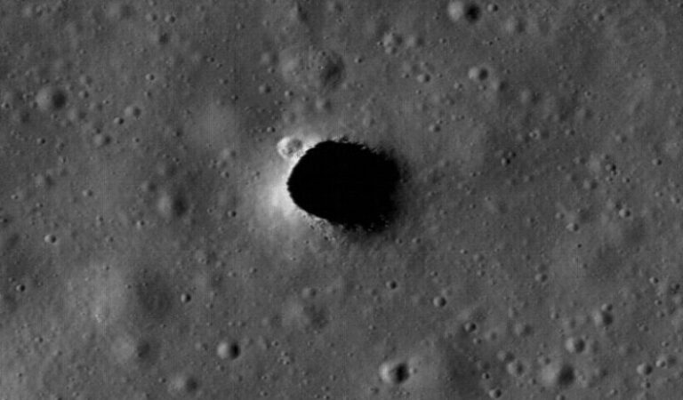 Scientists find massive underground tunnels on the Moon