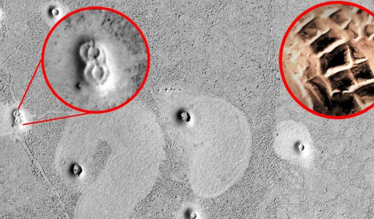 Ancient 'city ruins' discovered on the surface of Mars?
