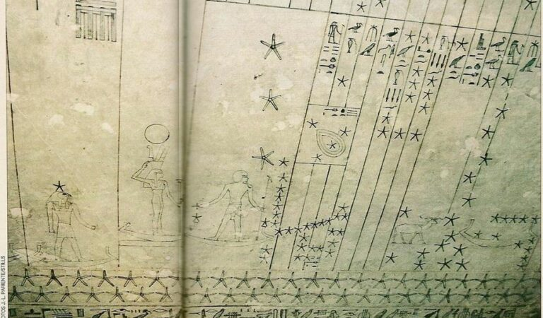 The mystery of the cosmic ceiling of the tomb of Senemut