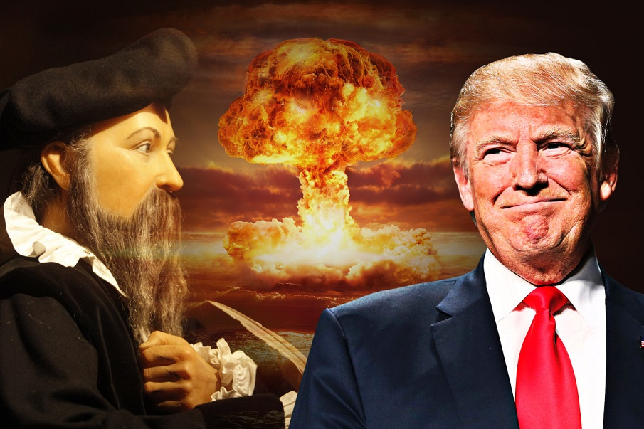 Nostradamus saw TRUMP as the ANTI-CHRIST who will trigger WORLD WAR 3