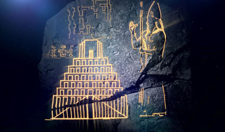 Ancient Babylonian tablet shows the Tower of Babel and describes construction