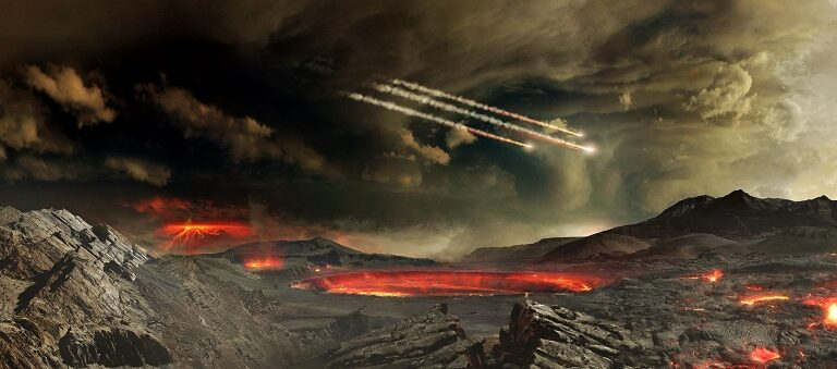 3.5 Billion years ago—Oldest Evidence of Life on Earth found