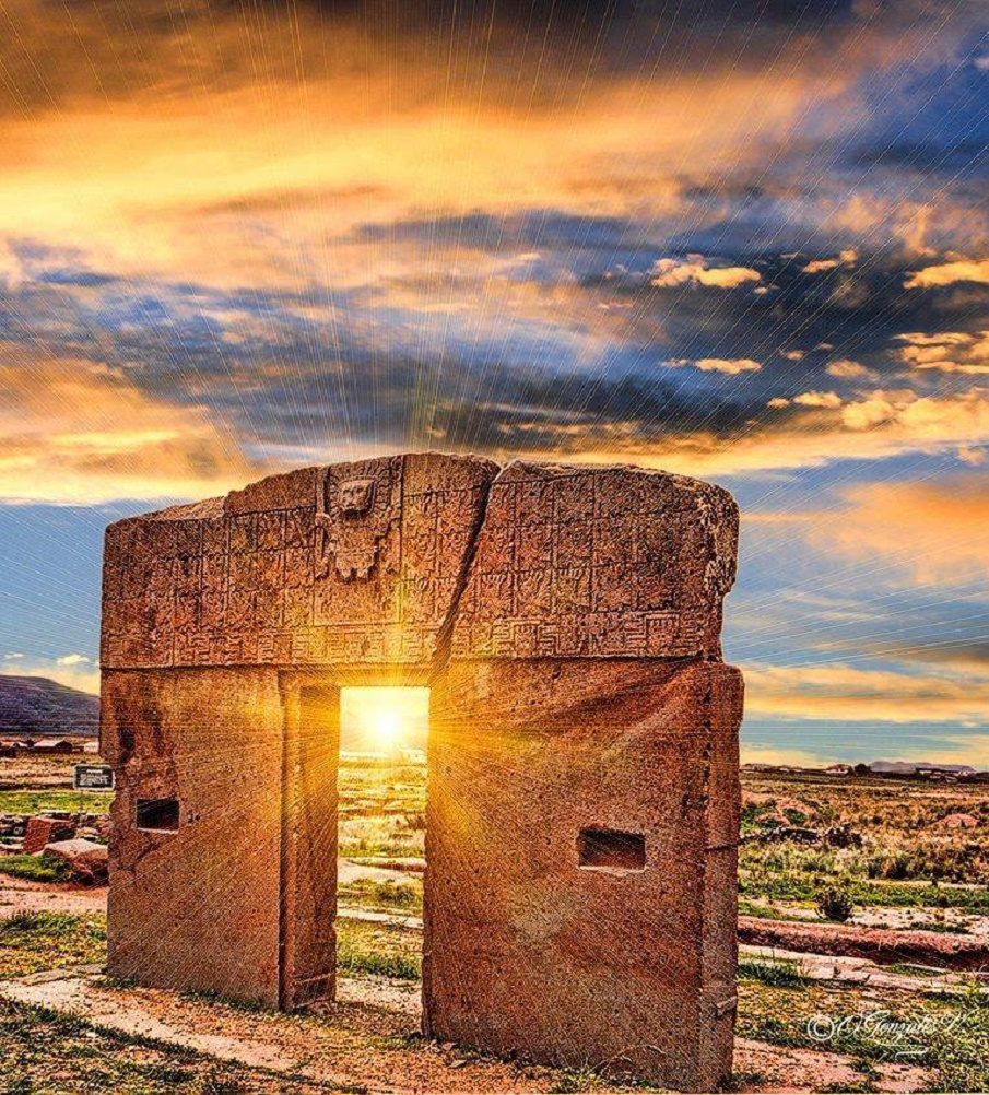 The enigmatic gate of the sun a 10 ton ancient structure for La puerta del sol