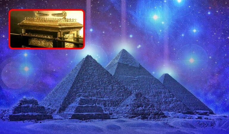 The Great Pyramid of Giza—where the Ark of the Covenant was originally located?