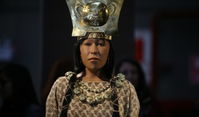 Back to the past! 3D imaging reveals face of Peruvian ruler who reigned over 1,700 years ago