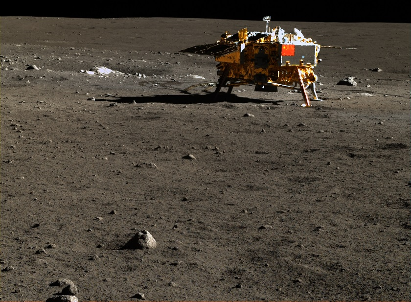 China Landed on the moon and snapped the best-ever images of the lunar surface PCAML-C-005_SCI_N_20140113190450_0008_A_2C
