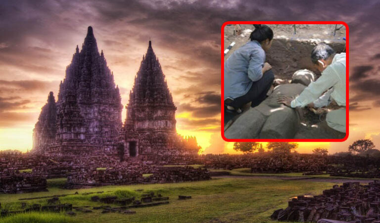 "Archaeologists unearth massive ""Guardian"" statue at Angkor Wat"