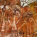 Rock Art found at Nourlangie