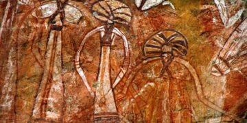 Rock Art found at Nourlangie