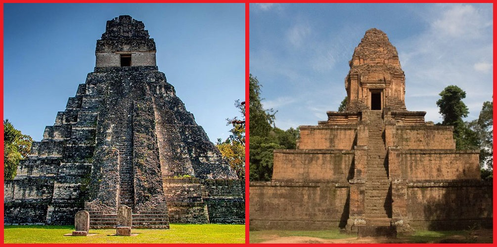 Similitudes imposibles: Baksei Chamkrong (Camboya) y Templo del Gran Jaguar (Guatemala)