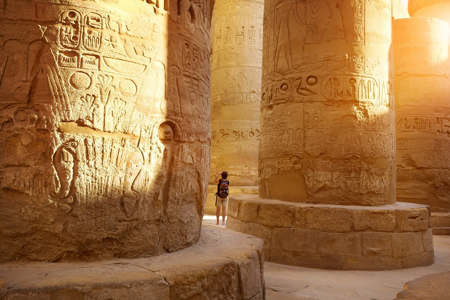 The wonders of ancient Egyptian Engineering: The Great Hypostyle Hall Columns-Ancinet-Egypt