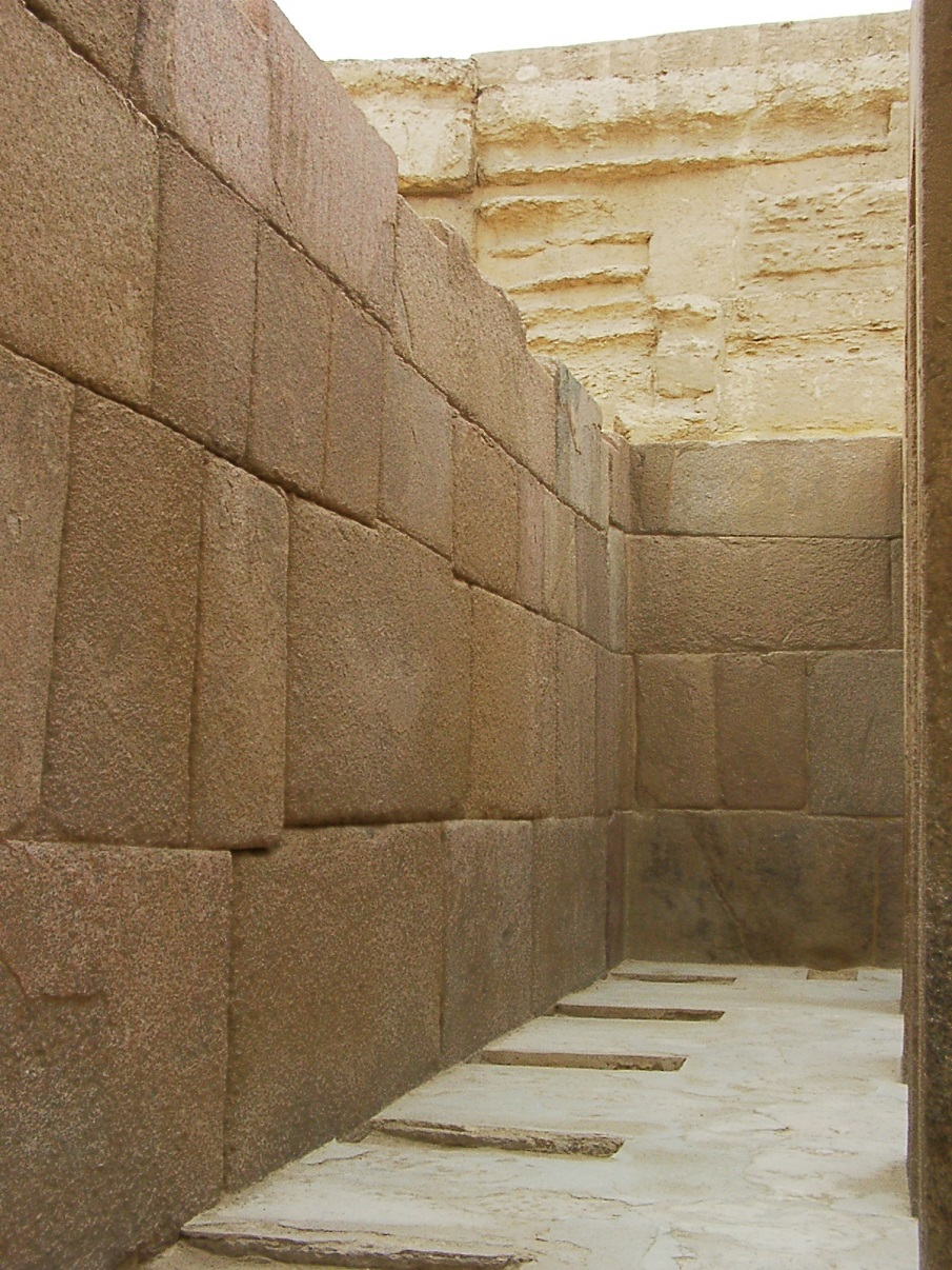 Another view of the stones at the Khafre Valley Temple