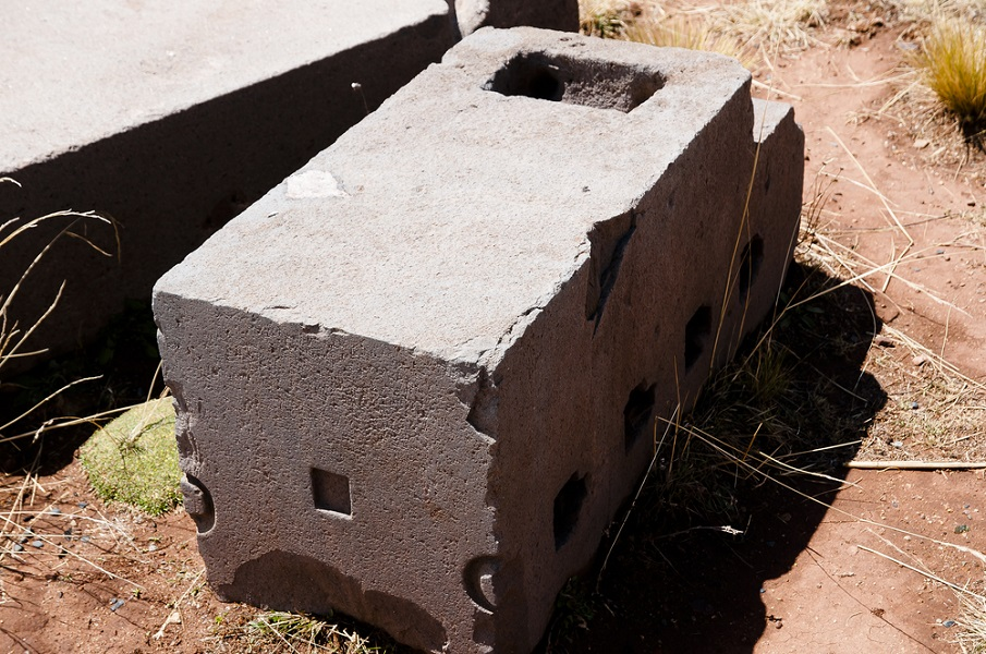 Another stone block at puma punku