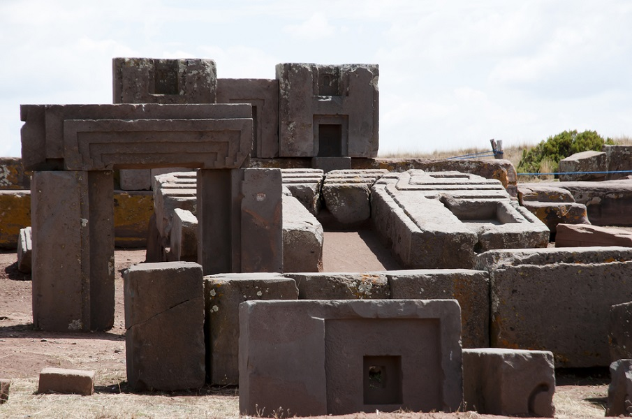 The Stones at Puma Punku