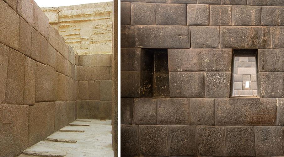 La increíble similitud entre el Templo de Coricancha en Perú y el Templo del Valle de Egipto