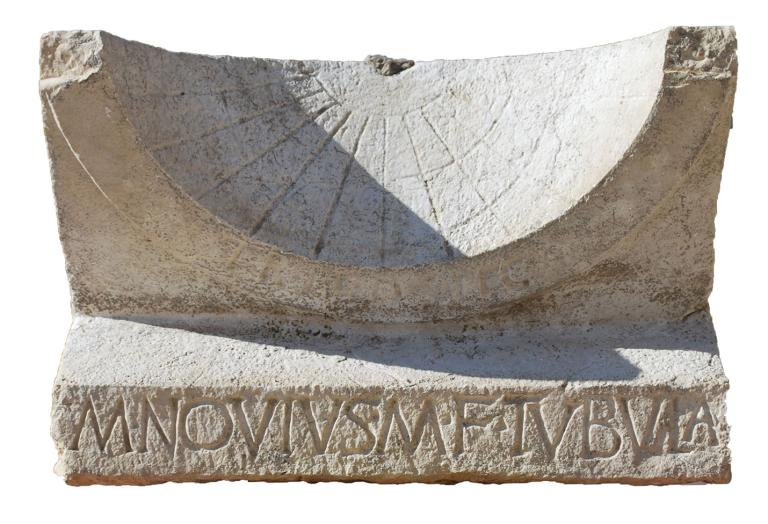 Archaeologists find incredibly well-preserved 2,000-year-old sundial