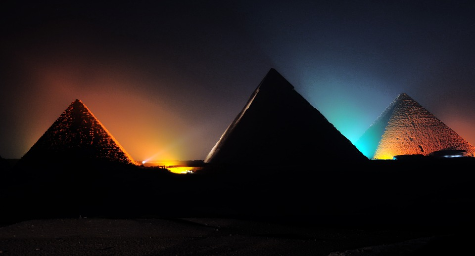 The Great Pyramid of Giza is one of the most perfectly-designed structures ever built