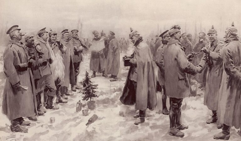 The day when Christmas became stronger than the First World War
