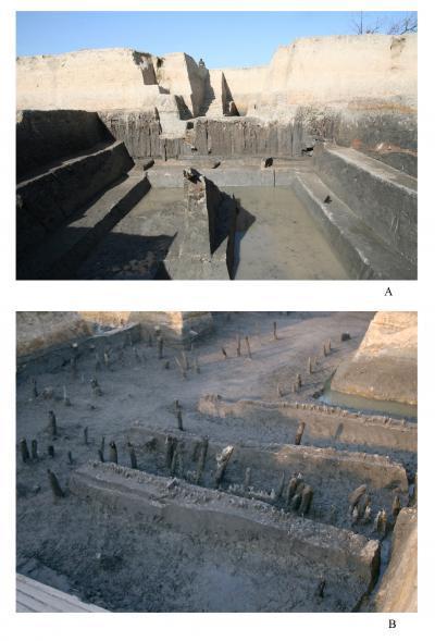Restos de un antiguo sistema hidráulico de 5.100 años de antigüedad excavado en China