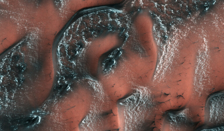 Alien Landscape: NASA publishes 'strangest' images of Mars yet