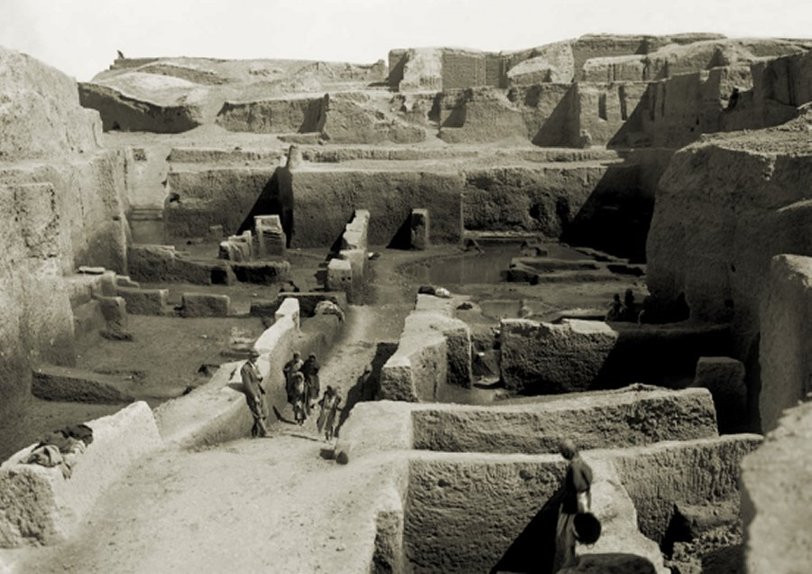 The ancient city of Kish—the first city of the 'Gods' after the great flood