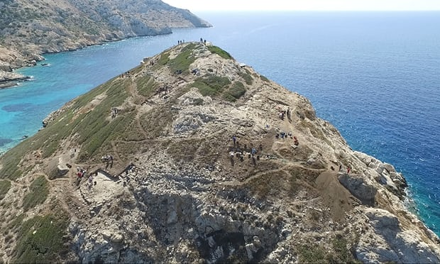 Researchers Unearth Sophisticated Engineering And Metal-Work Beneath Ancient Greek 'Pyramid'