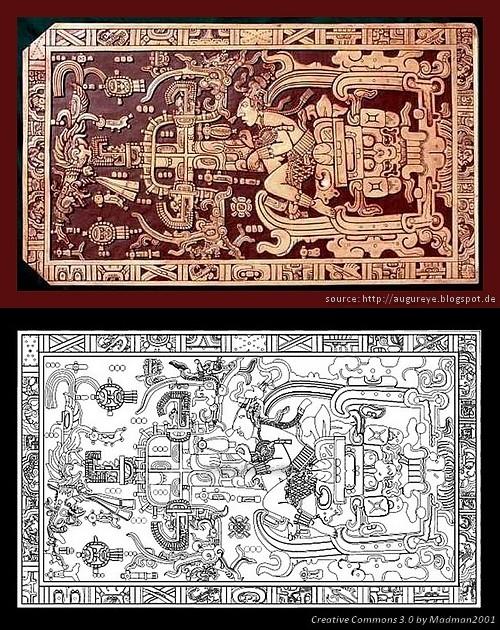 King Pakal Sarcophagus 10 artefactos antiguos que sugieren que podríamos haber sido visitados por antiguos astronautas
