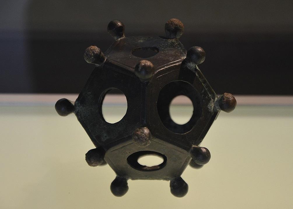 Los Dodecaedros romanos, misteriosos artefactos antiguos cuyo propósito sigue siendo un misterio