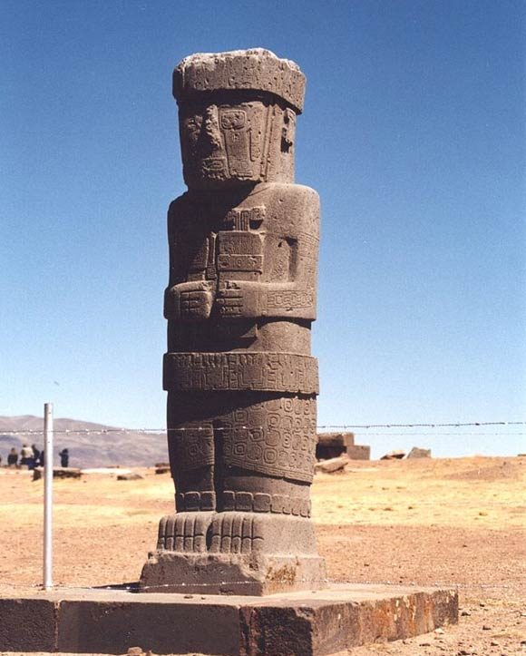 Inexplicable Similarities Between Göbekli Tepe, Easter Island, And Other Ancient Sites Statue-from-Tiwanaku-1