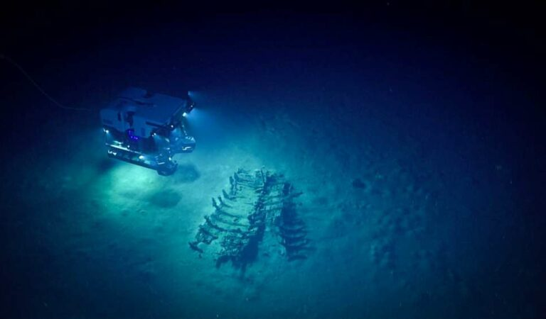 Underwater Drones Are Exploring Shipwrecks Below The Gulf Of Mexico—And What They've Found Is Incredible