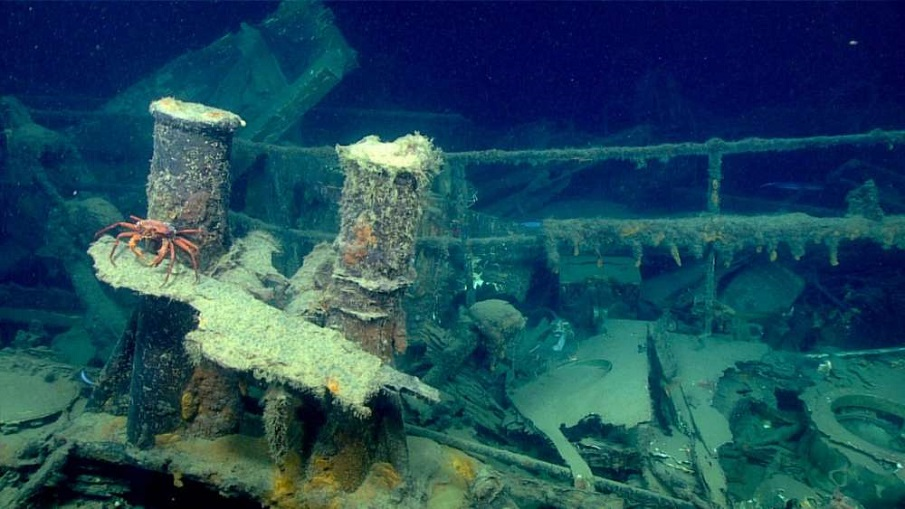 Underwater Drones Are Exploring Shipwrecks Below The Gulf Of Mexico—And What They've Found Is Incredible Sunken-Ship