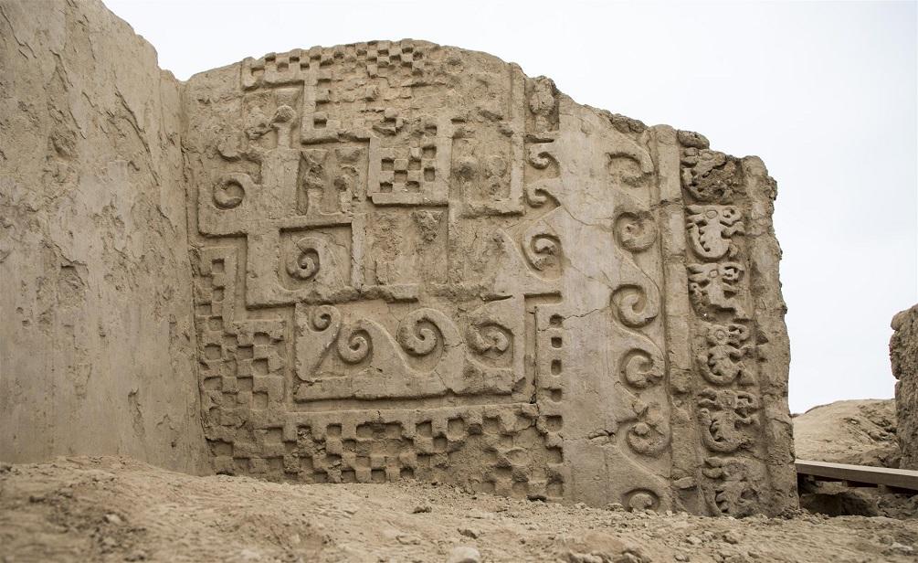 Wall motifs found at Chan Chan