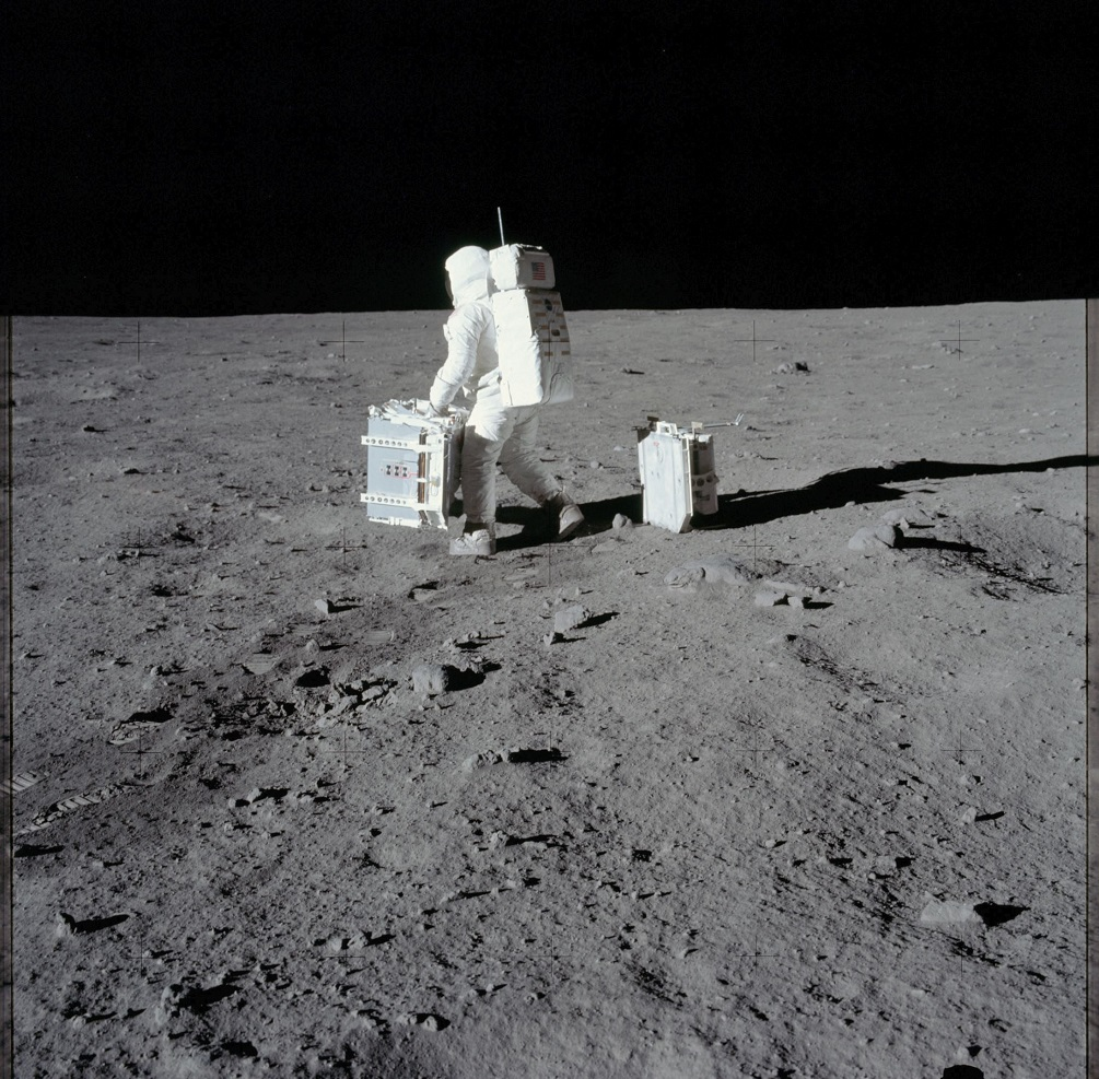 Apollo 11 Moon landing image