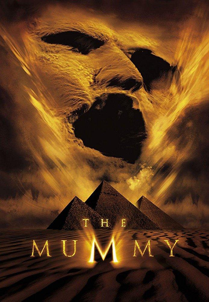 Illustration of the movie Mummy.