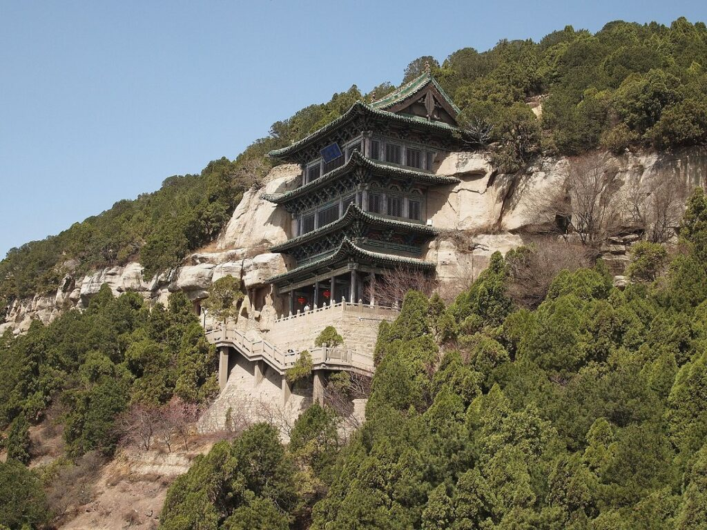 The Tianlongshan Grotto