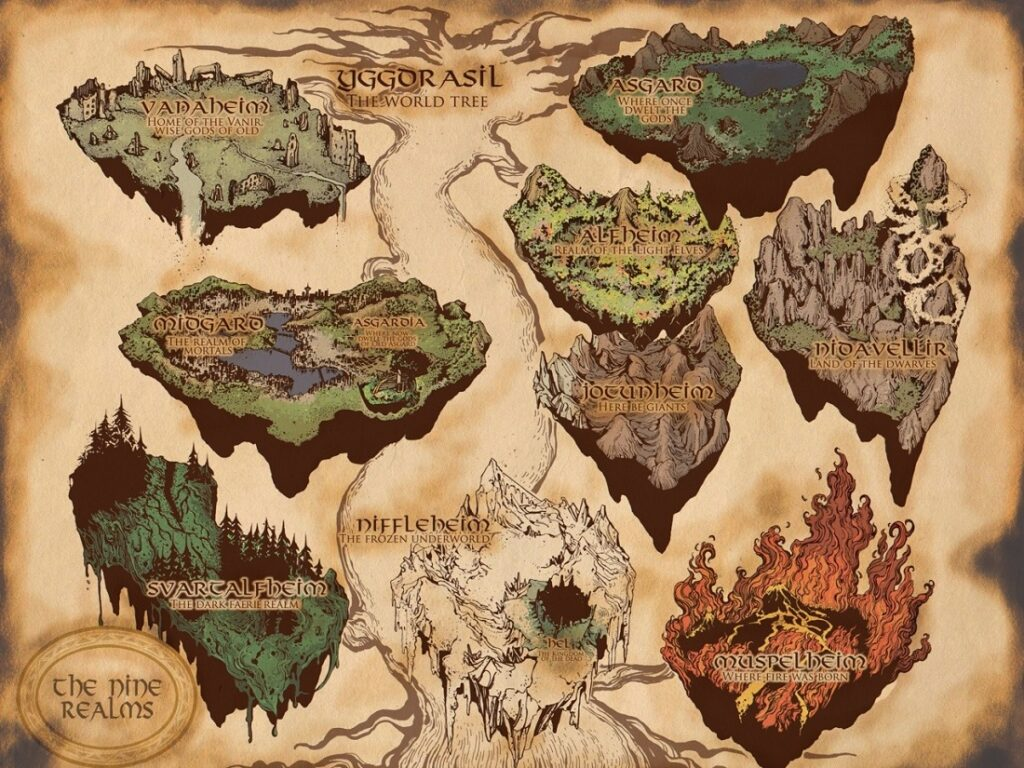 These Are The 9 Worlds According to Ancient Norse Mythology