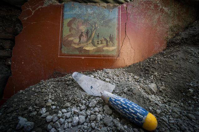 Hose Of Jupiter in Pompeii