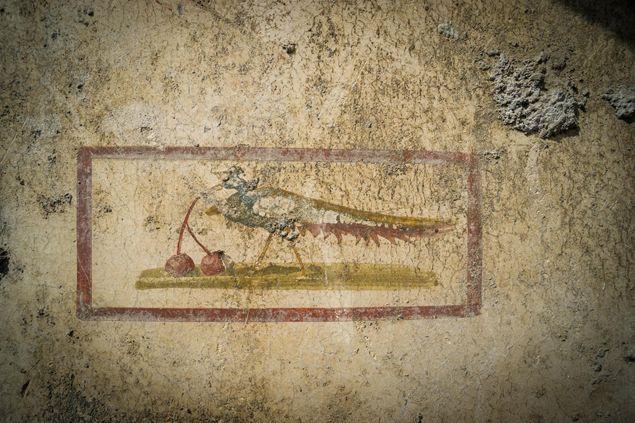 A fresco in Pompeii