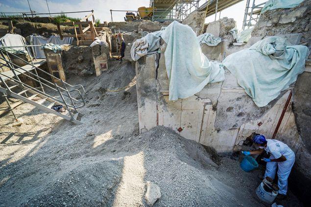 Excavations at Pompeii